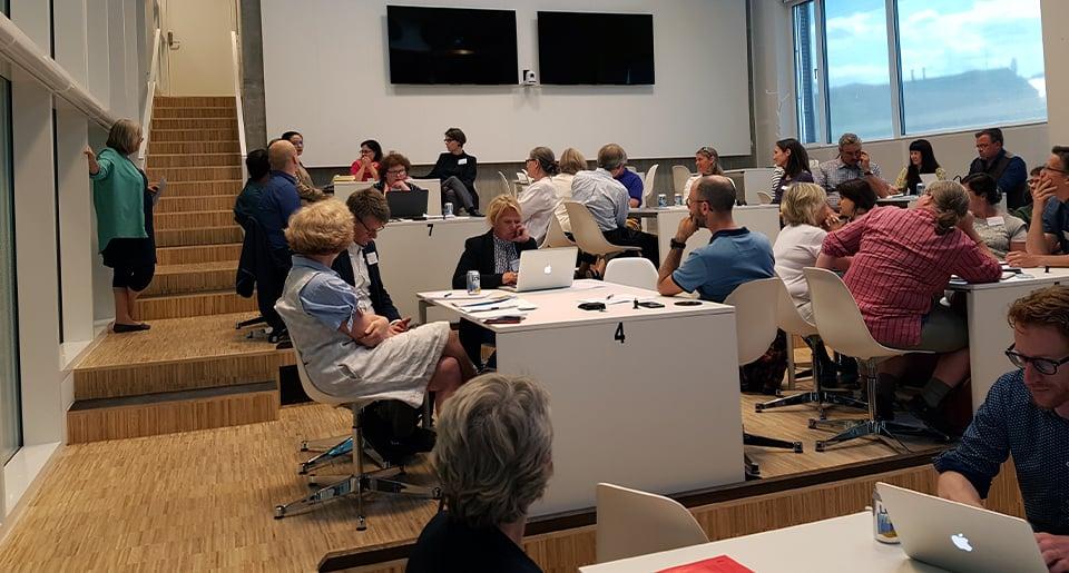 Intressanta diskussioner om kopplingen mellan forskning och utbildning