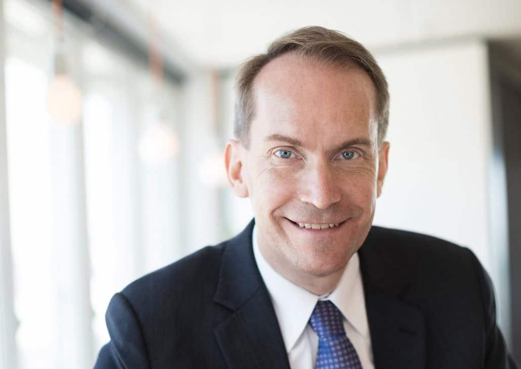 Porträttbild på STINTs vd Andreas Göthenberg