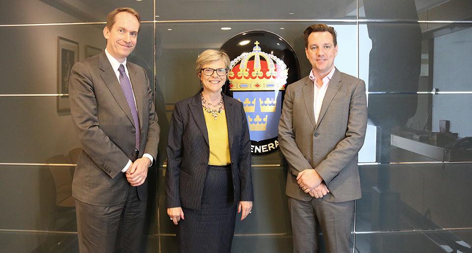 STINT har nu öppnat kontor vid Sveriges generalkonsulat i Shanghai